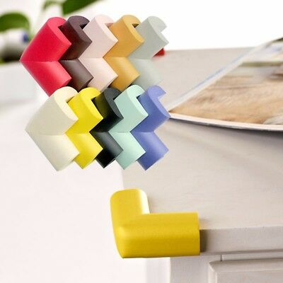 4/8Pcs Soft Baby Safety Corner Edge Cushion Desk Table Cover Protector