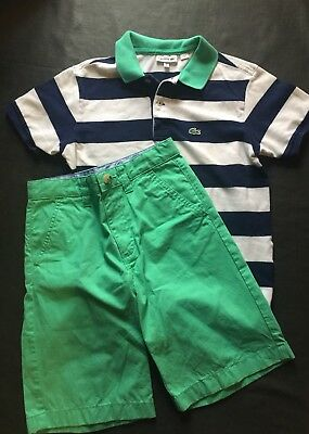 Lacoste Shirt And Shorts Outfit EUC