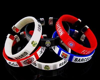 2018 FOR Real Madrid Barcelona Juventus football Soccer clubs fans Bracelet JH