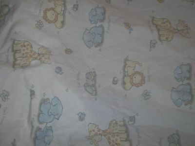 Circo Two by Two Noah's Ark Animals Fitted Crib/Toddler Bed Sheet {Fabric}