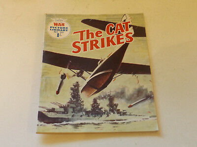 WAR PICTURE LIBRARY NO 487!,dated 1968!,V GOOD for age,great 50!YEAR OLD issue.