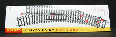 Hornby R8074 Left Hand Curved Point - Aust. Warranty