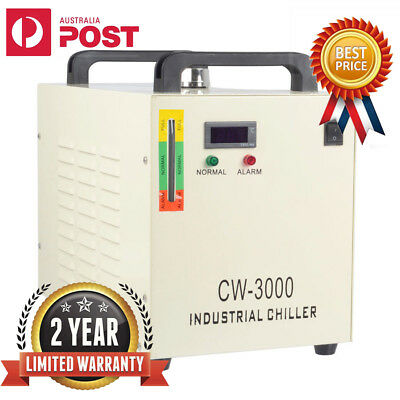 Industrial Water Chiller CW-3000 for CNC/ Laser Engraver Engraving Machine 220V