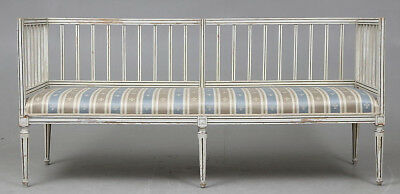 Empire Klassizismus  Biedermeier Sofa Bank um 1800