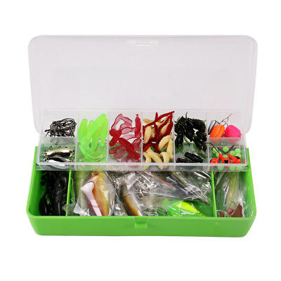 Mixed Fishing Lure Set Kit Lots With Free Tackle Box Fishing Lures Baits Tack