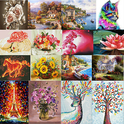 Full Drill Diamond Painting DIY 5D Embroidery Cross Stitch Kit Handcraft Decor