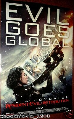 Resident Evil Retribution Original  Movie Ds Poster 27X40