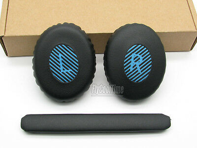 Black Blue Repalcement Head Cushion&Earpad Ear Pads For Bose SoundLink OE2 OE2i