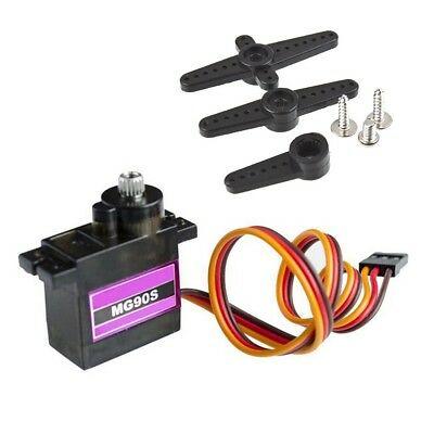 MG90S Metal Gear High Speed Micro Servo 9g for RC Plane Helicopter Boat 1pc