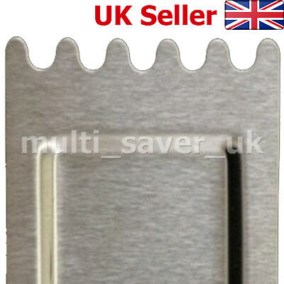 BUFFALO N265 Ribbed Griddle Scraper Cleaner for Contact Grill / Griddle Spares