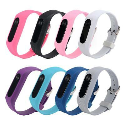 220mm Silicone Strap Wristband Replacement For Xiaomi Miband 2 Smart Bracelet