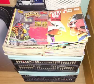 Job Lot Of Various 2000AD / 2000 AD Monthly, Annual & Spin-off Magazines Comics
