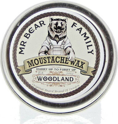 Mr Bear Family - Moustache Wax Woodland Bartwachs 30 g