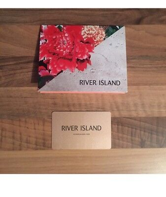 RIVER ISLAND Gift Card VALUE £120