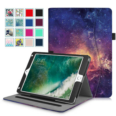 For New iPad 6th Gen 9.7 inch 2018 / 5th Gen 2017 Tablet Multi-Angle Case Cover