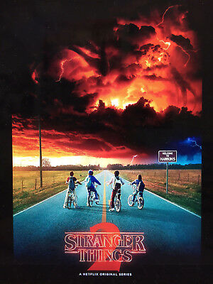 Stranger Things 2 24X36 Poster Tv Series Season 2 Science Fiction Netflix Web!!!