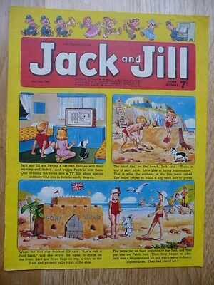 Collectible Vintage Jack and Jill Comic  26th July 1969