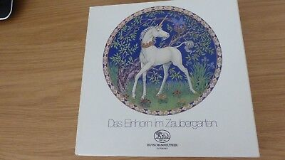 unicorn plate by Hutschenreuther of Germany