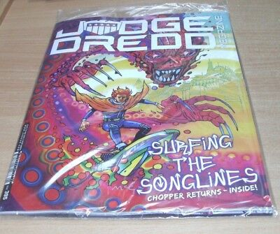 2000AD Judge Dredd megazine #395 15th MAY 2018 Surfing the Songlines
