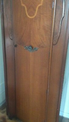Edwardian  gentlemans single wardrobe