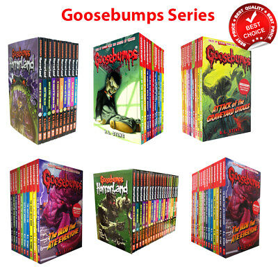 Goosebumps Horrorland Series Collection R L Stine Books Set Classic Pack NEW