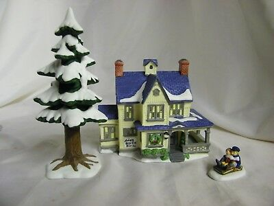 "Dept.56 New England Village Series ""Ada's Bed and Board"" C. 1988"