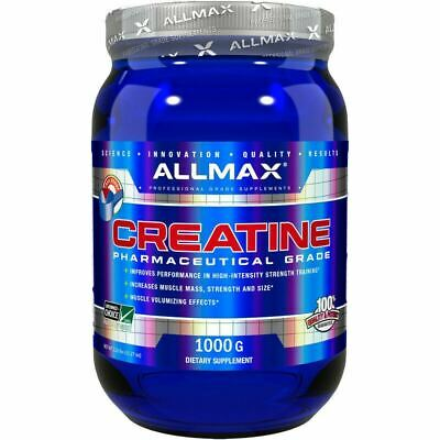 Allmax Nutrition 1Kg Creatine Micronised 100% Pure German Grade Powder Creapure