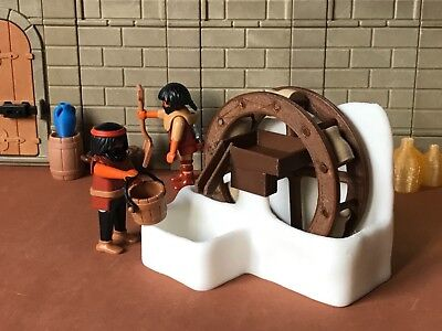 Ferris Wheel Water Medieval Nativity Scene Stage Parts And Figures