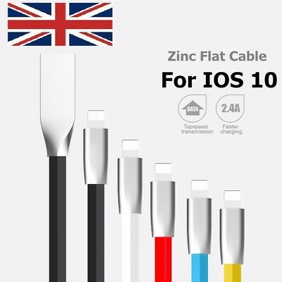 USB Data Cable Charger Lead Fast Charging For iPhone 6 7 8 Plus