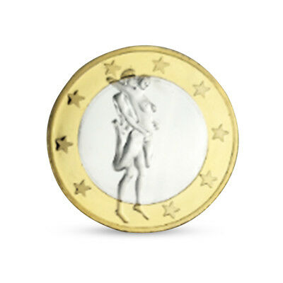 Germany Sexy Coins Europe Commemorative Coin Iron Medal For Adults Two Tone Gold