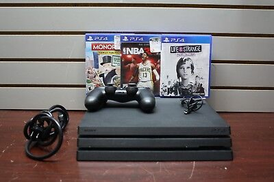 Sony Playstation Ps4 Pro Cuh-7015B 1Tb Video Game Console