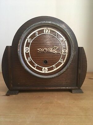 Enfield Mantel Clock Art Deco Spares Repair