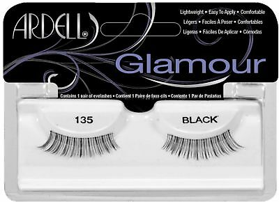 9dd1234563e NATURAL LASHES - # 135 Black by Ardell for Women - 1 Pair Eyelashes ...