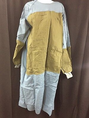 12 NEW PHOENIX INDUSTRIES Surgical Operating Gown Blue/Green Medium