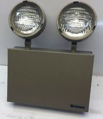 New Old Stock Lithonia 4PG96 Titan Series 120/277V Emergency Lights. W/Batteries