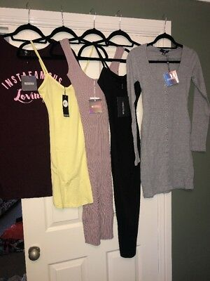 Ladies Size 6 New Clothes Bundle Boohoo Missguided Pretty Little Things Woman's