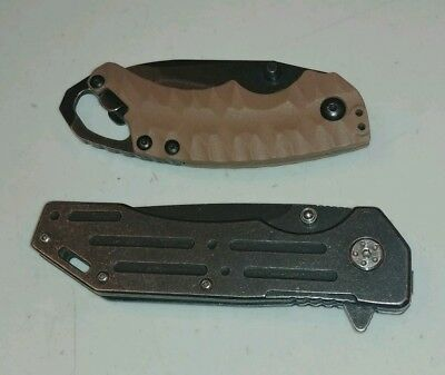 Lot of 2 Kershaw pocket knives(China)