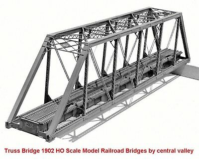 Truss Bridge 1902 HO Scale Model Railroad Bridges by central valley