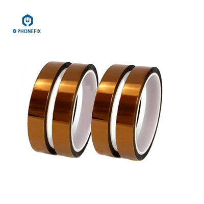 2 Kinds High Temperature Polyimide Gold Kapton Tape Adhesive for iPhone PCB BGA