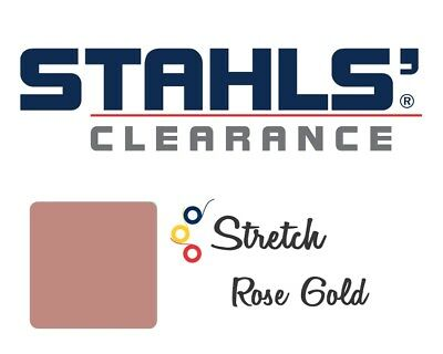 "15"" x 5 Yards - Stahls' Stretch Heat Transfer Vinyl HTV - Rose Gold"