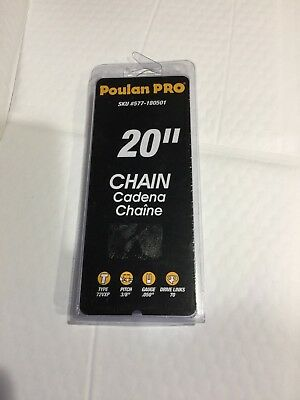 """Poulan Pro 20""""  Chainsaw Replacement Chain  577180501"""