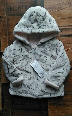 Soft & Warm Coat 9-12 Months Bunnies Rabbits Brand New With Tags