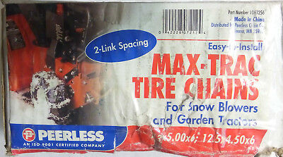 Security Tire Chain Peerless Max Trac 1061256 Snow Blower/Garden Tractor