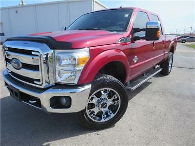 F-350 -- 2015 FORD F-350SD  Red PK POWER STROKE 6.7L V8 DI 3 TORQSHIFT 6-SPEED AUTOMATIC