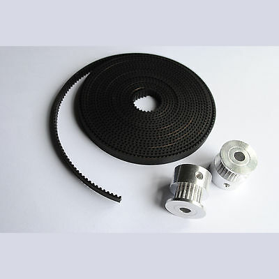 12 x GT2 PULLEYS 16T/20T & 10M of GT2 TIMING BELT 6mm Wide 2mm Pitch - 10 Metres