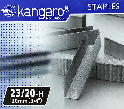 "Replacement Staples 23/20 (3/4"" / 20mm) for KW-Trio Long Reach Stapler"