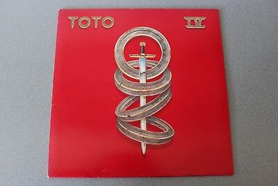 LP 12 inch TOTO IV  1982 CBS with innersleeve TOP