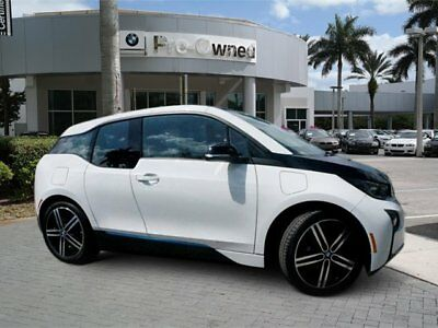 2015 BMW i3 Leather 2015 BMW i3 TERA WORLD with range extender clean carfax $54,345 msrp florida car