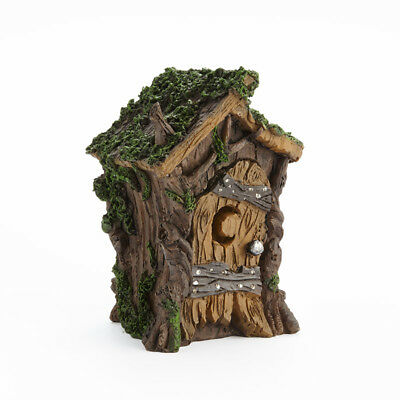 Miniature Dollhouse FAIRY GARDEN - Fairy Swamp Outhouse - Accessories