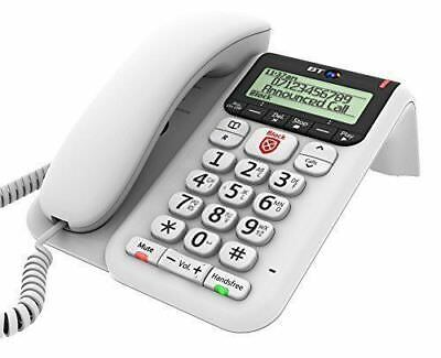 NEW TELSTRA Guardian 302 HOME PHONE ANS/MACHINE BIG NUMBERS HEARING AID COMPATIB